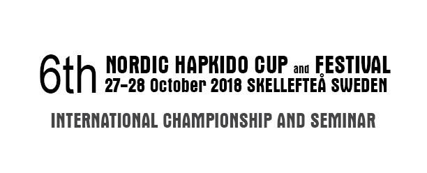 6th Nordic Hapkido Cup