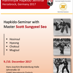 Hanminjok Hapkido Seminar|Herzebrock, Germany 2017
