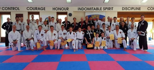 1st Oceania Cup and 2016 Hapkido Festival