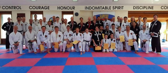 Hapkido Seminar attendees